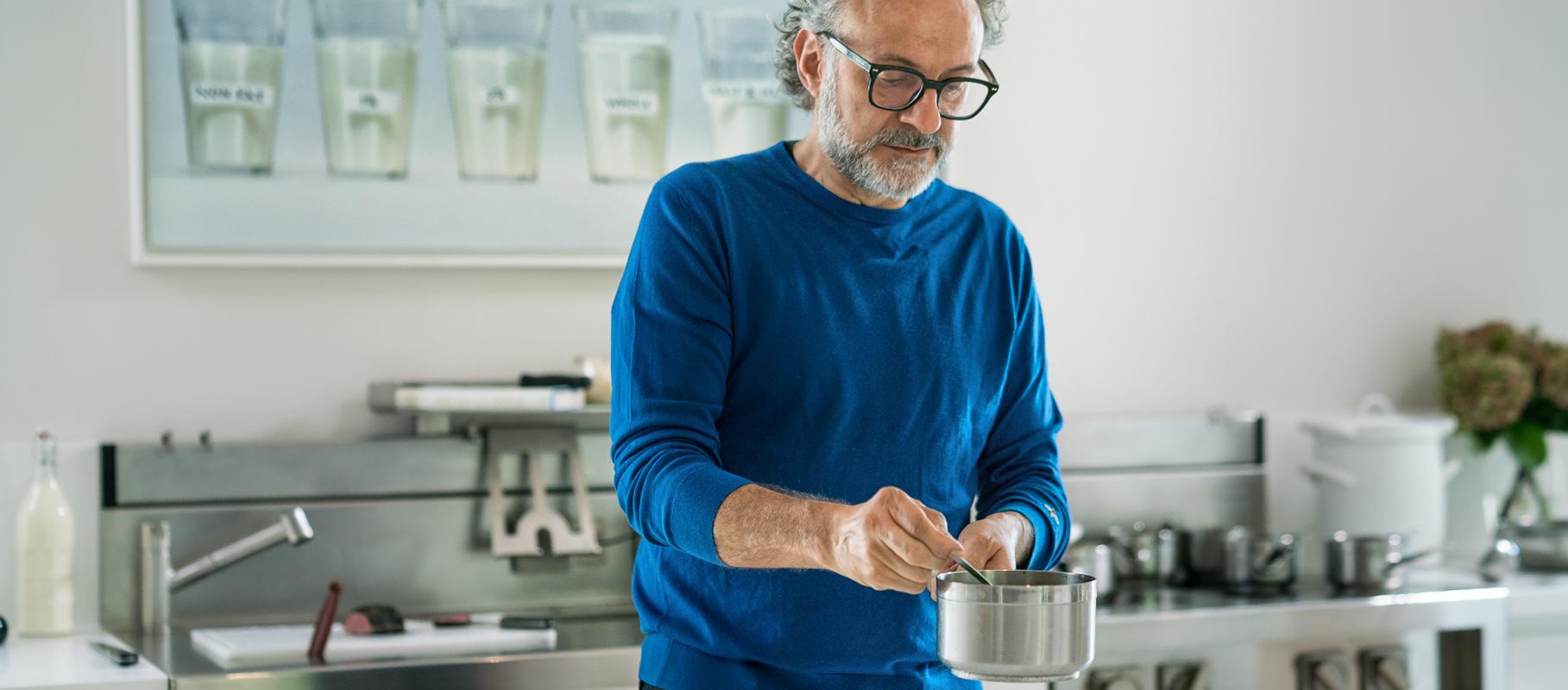 Massimo Bottura Cooking